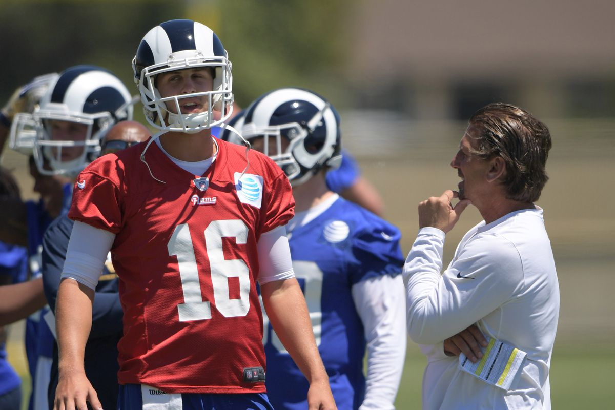 Nfl expected to consider future sunday night playoff games espn - Los Angeles Rams Qb Jared Goff At Otas Kirby Lee Usa Today Sports