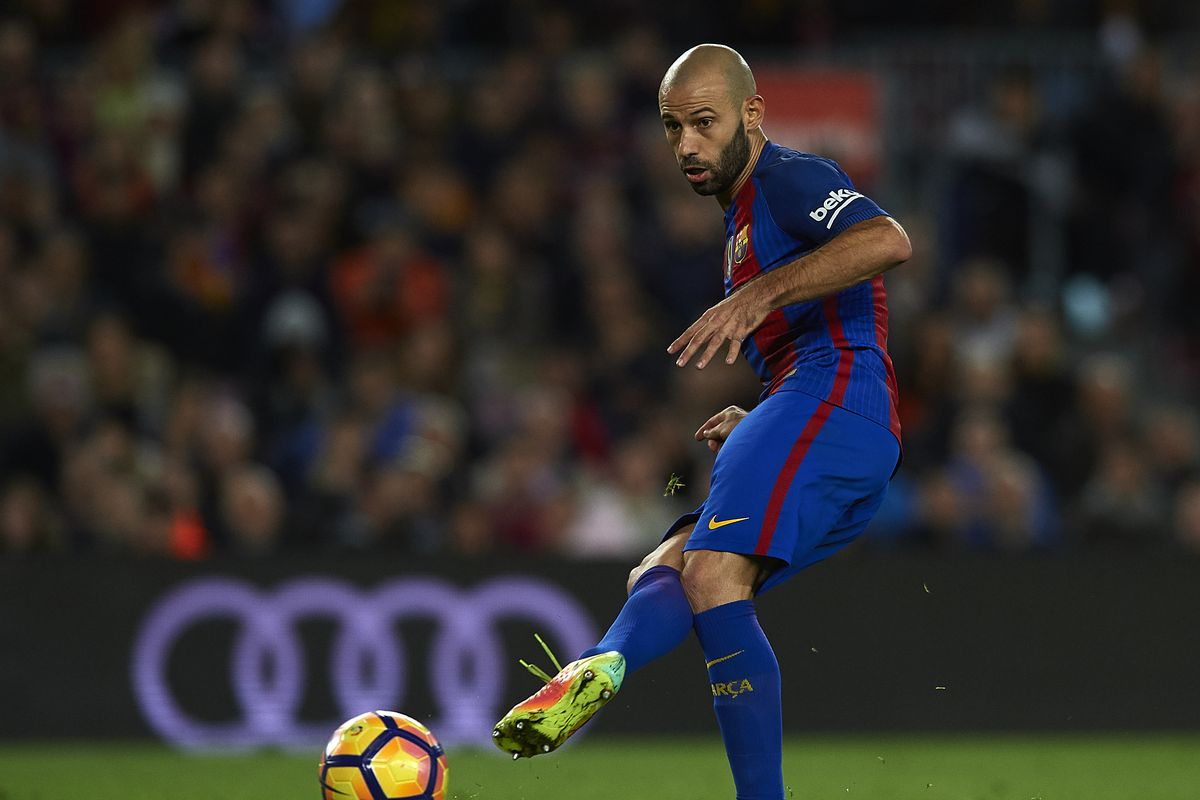 Javier Mascherano to stay at Barcelona Report Barca Blaugranes