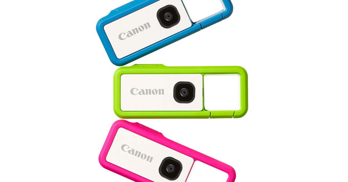 Canon's small, clippable Ivy Rec camera will be available on October 16th