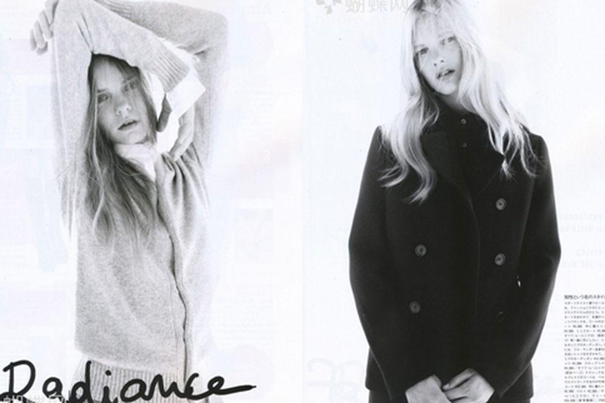 "Jil Sander for Uniqlo in Vogue Nippon via <a href=""http://www.nitrolicious.com/blog/2009/09/02/plus-j-by-jil-sander-for-uniqlo-in-vogue-nippon-october-2009/"">Nitrolicious</a>"