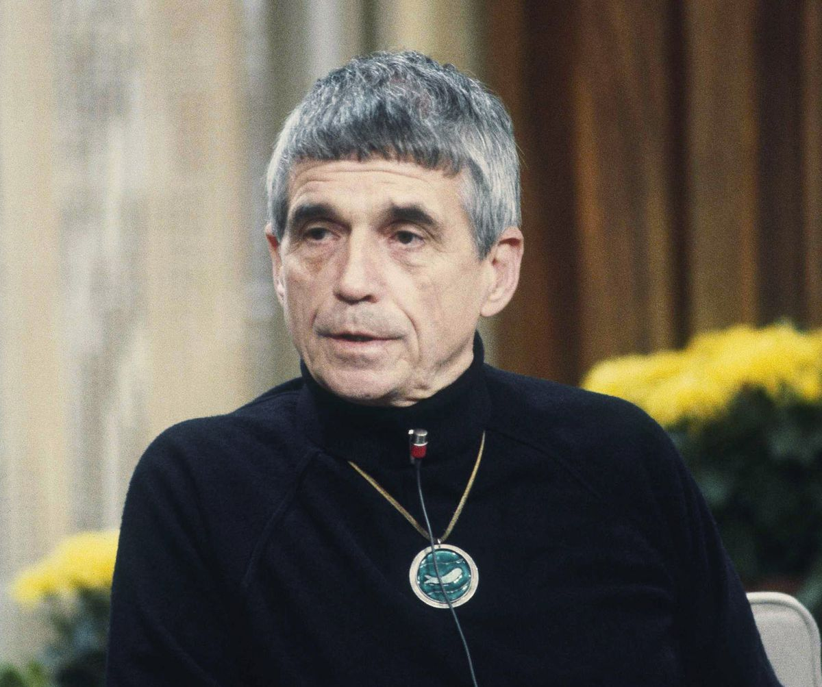 """This Feb. 16, 1981, photo shows Daniel Berrigan, on NBC-TV's """"Today"""" show in New York. AP file photo"""