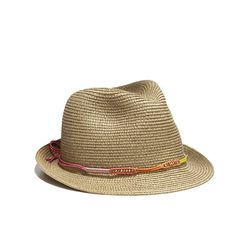 Fedora in gold, $20