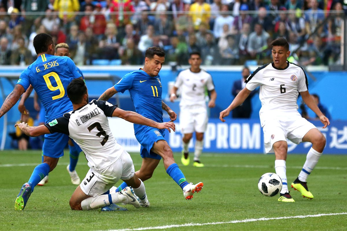 Brazil vs Costa Rica, World Cup: Final Score 2-0, Coutinho ...