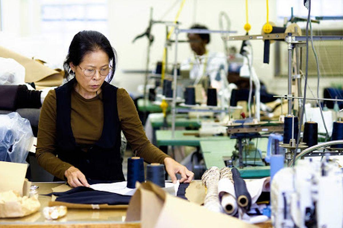 SA VA's garment center. Image credit: SA VA