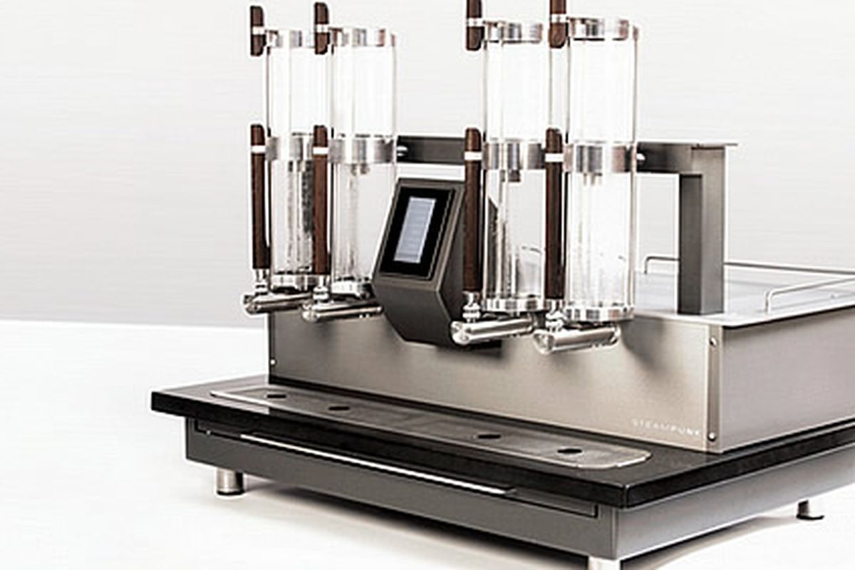 La Colombe Unveils $15,000 Steampunk Coffee Machine - Eater Philly