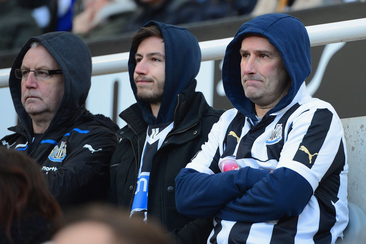 Newcastle fans have been underwhelmed by their club's performances against bottom teams.