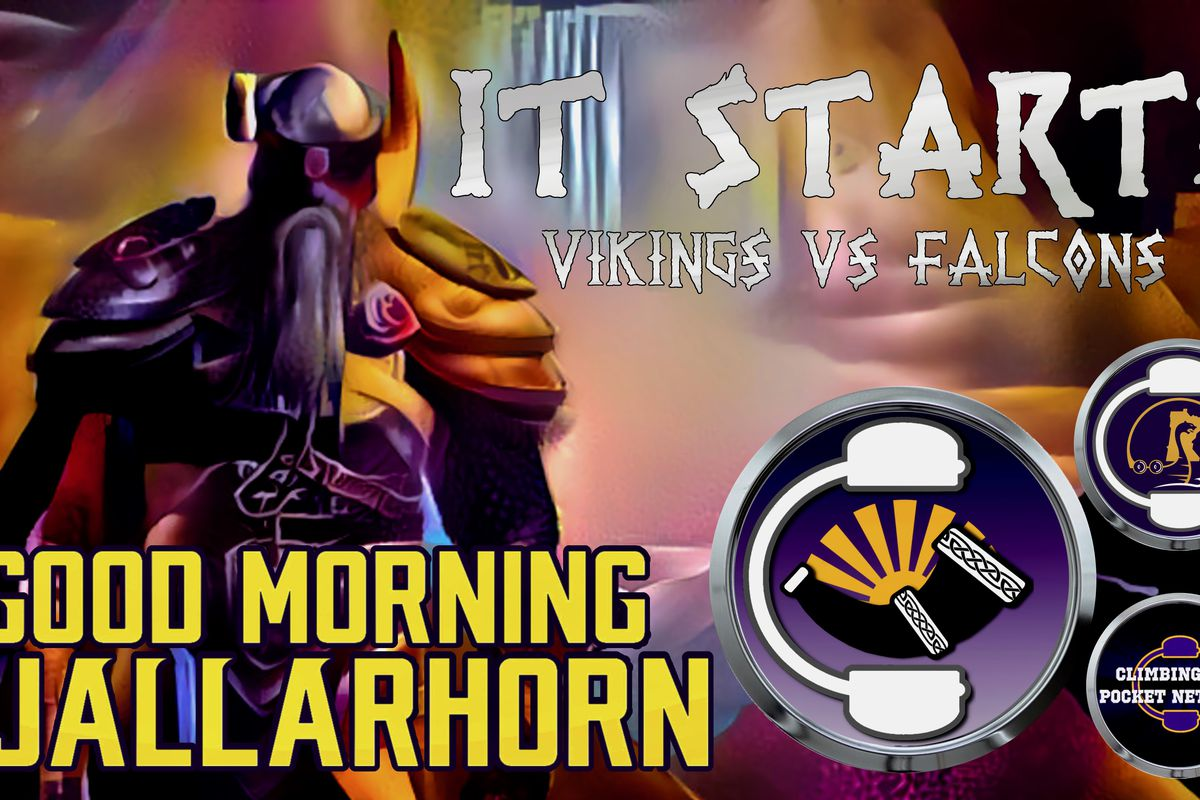 Vikings vs Falcons – GMG ep 61 — It Starts! - week 1 NFL at