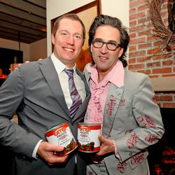 Max MacKissock, Chef of the Year and Johnny Ballen of the Squeaky Bean, Restaurant of the Year
