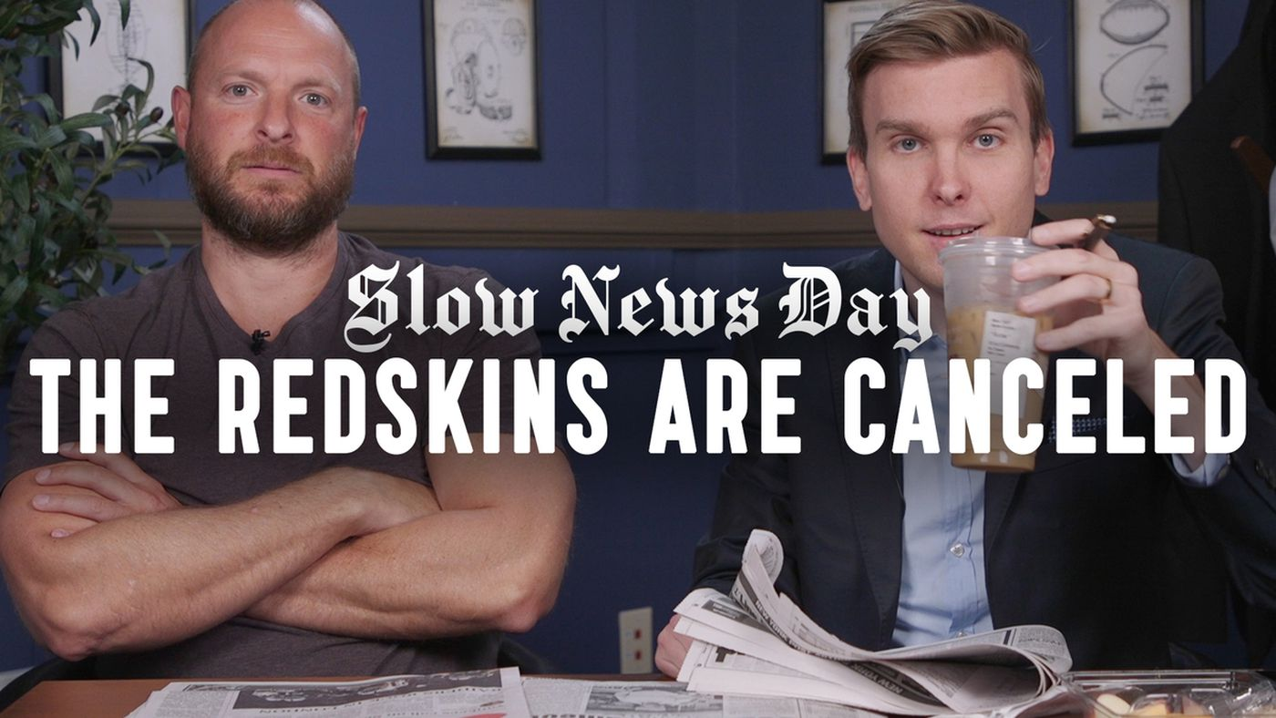 'Slow News Day': The Redskins Should Be Relegated to the XFL