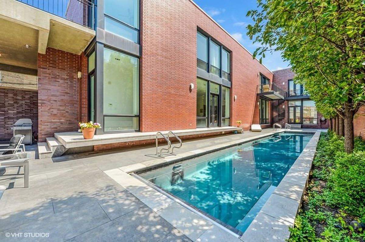 Enormous Ultra Modern West Town Mega Mansion Lists For 7