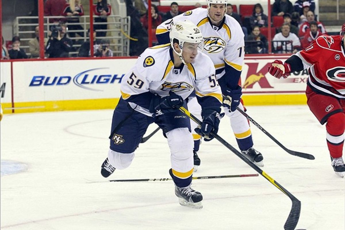 On the local front, Roman Josi is working out with Shea Weber.
