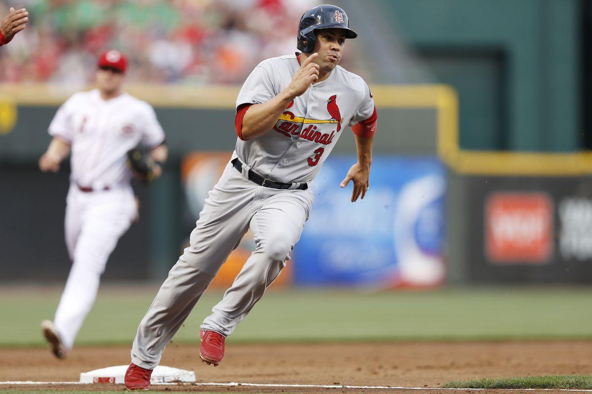 Carlos Beltran Injury Cardinals Of Leaves Game With Foot
