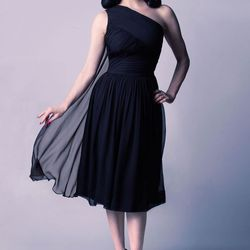 """The Follow Me dress from Dita's line at <a href=""""http://www.tatyana.com/the-follow-me-dress?search=dita%20von%20teese"""">Tatyana</a>, $540, is a seasonless cocktail look that you can wear all year. Staffers at the Haight Street store tell us that the closes"""