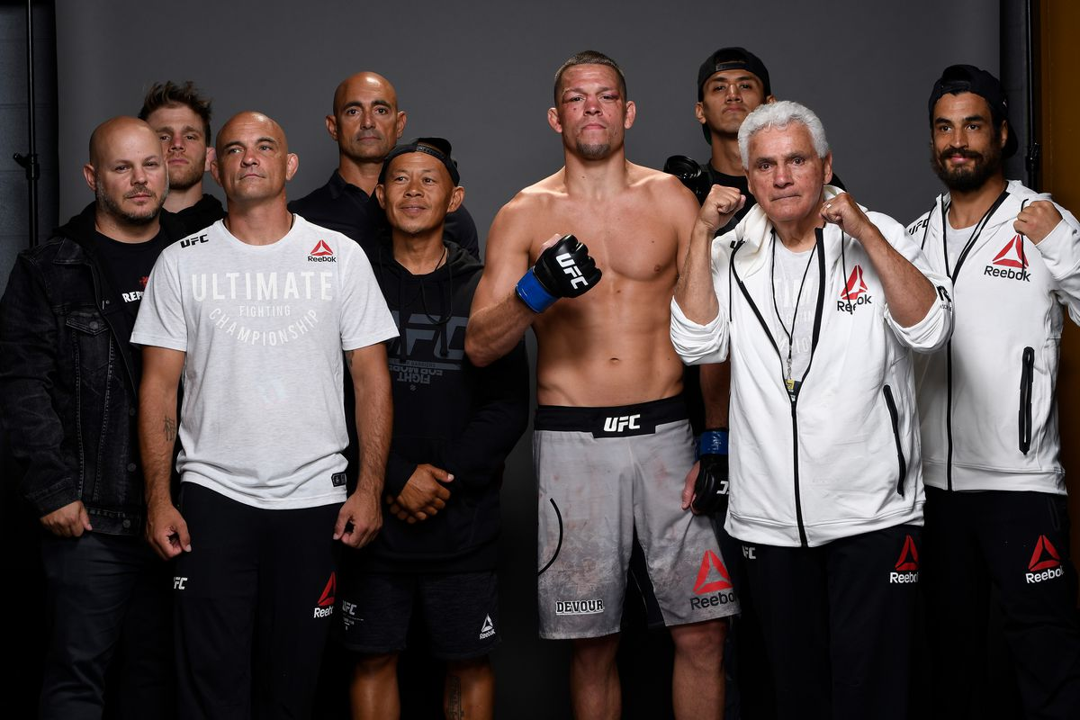 Nate Diaz and Jorge Masvidal set to face off on Thursday at UFC 244 pre-fight press conference
