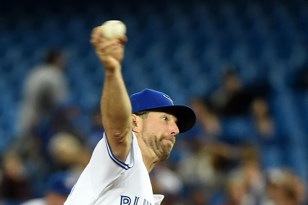 R.A Dickey gives the Jays a strong outing, but it wasn't enough in Jays loss.