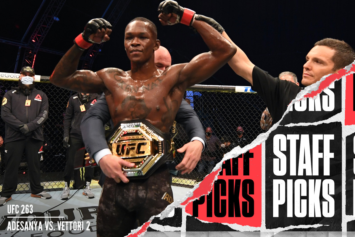 Israel Adesanya after his title win over Paulo Costa at UFC 253.