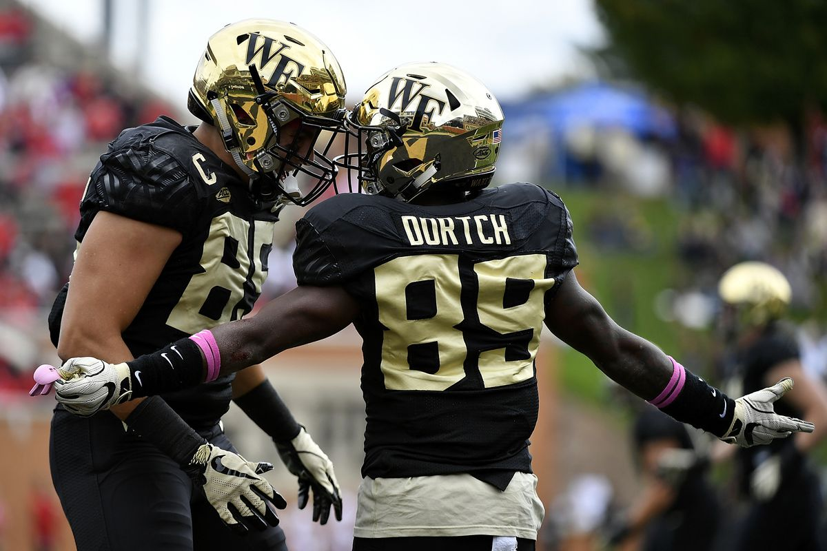 0dad7c20aa4e Wake Forest Football Year in Review  2018 in Graphs and Charts - Blogger So  Dear
