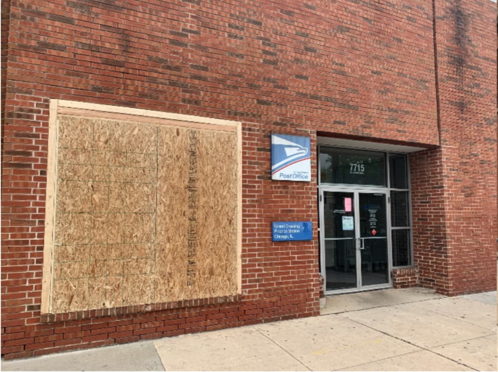 The U.S. Postal Inspection Service is asking the public for information about looting reported May 31 and June 1, 2020, at multiple Chicago post offices.