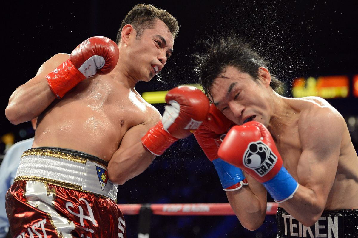 Donaire Vs Nishioka Results Nonito Donaire Wins One Sided Fight By Ninth Round Tko Bad Left Hook