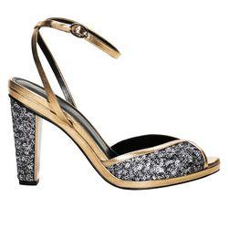 Leather sandal, $145