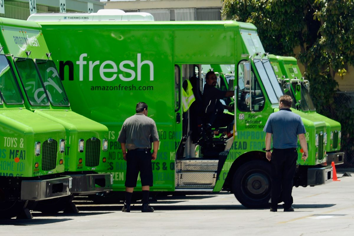 Amazon Is Scaling Back Its Fresh-Food Delivery