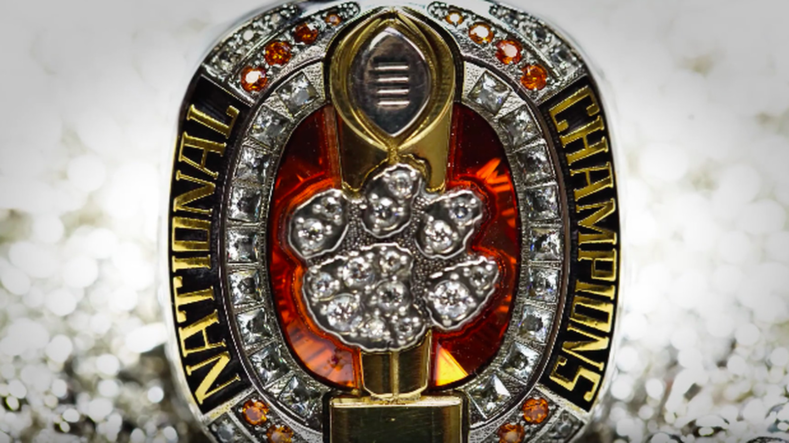 Clemson S 3 Minute Video About Its Title Rings Might Give