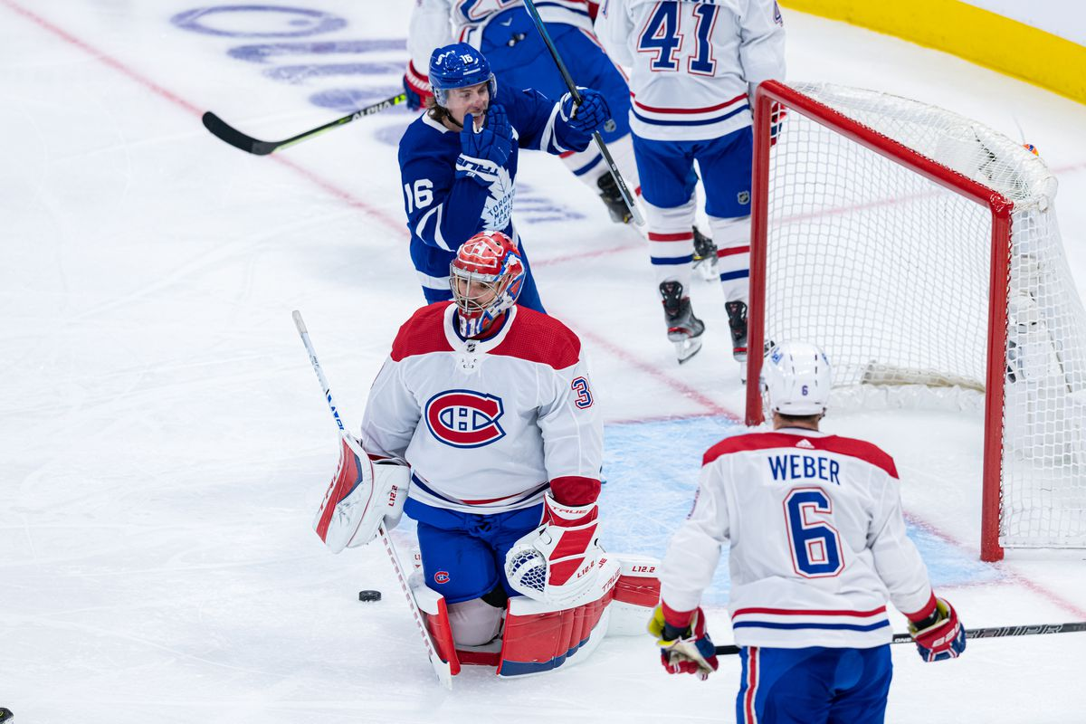NHL: MAY 22 Stanley Cup Playoffs First Round - Canadiens at Maple Leafs