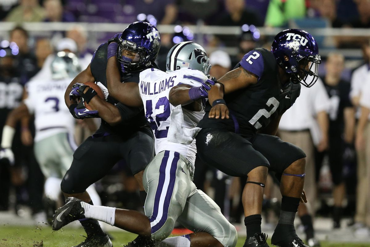 New K-State recruit Joshua Little could become the next Wildcat to disrupt and opponent in the backfield.