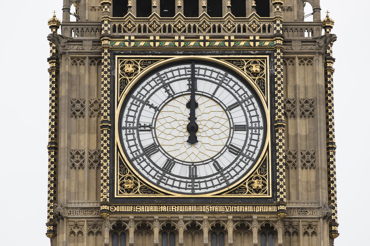 Big Ben Is Silenced Ahead Of Renovation Work