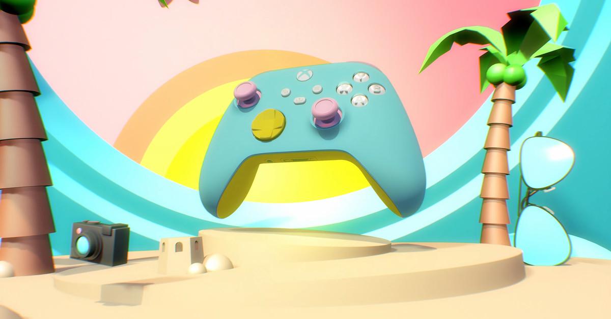 Xbox Design Lab returns with Xbox Series X custom controllers