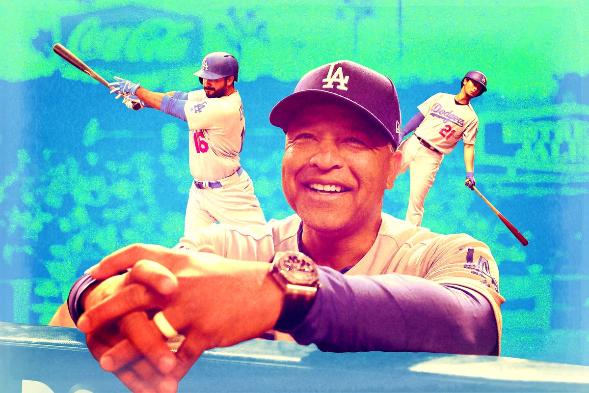 Dodgers manager Dave Roberts