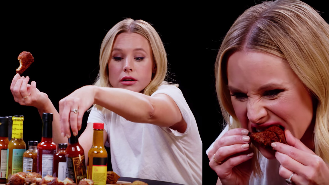 Kristen Bell Destroyed 'Hot Ones' And I Both Fear And Admire Her