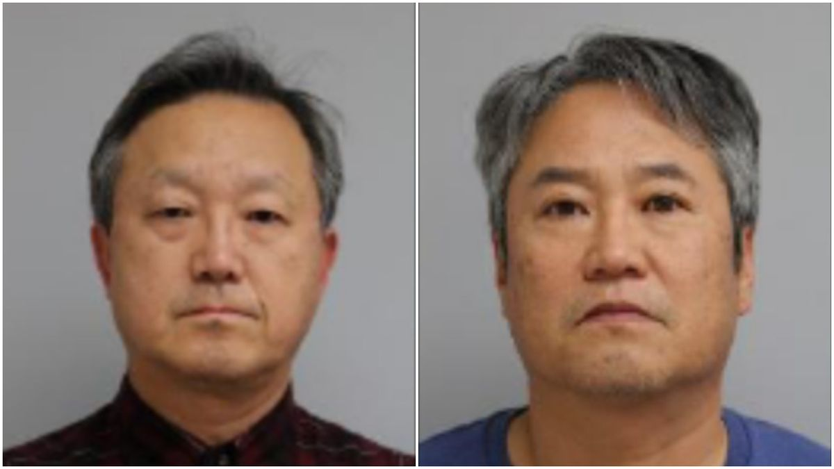June Lee and Hyung Kim are charged with selling fake products in Des Plaines