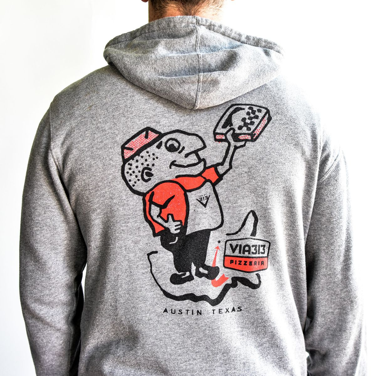 A hoodie from Via 313