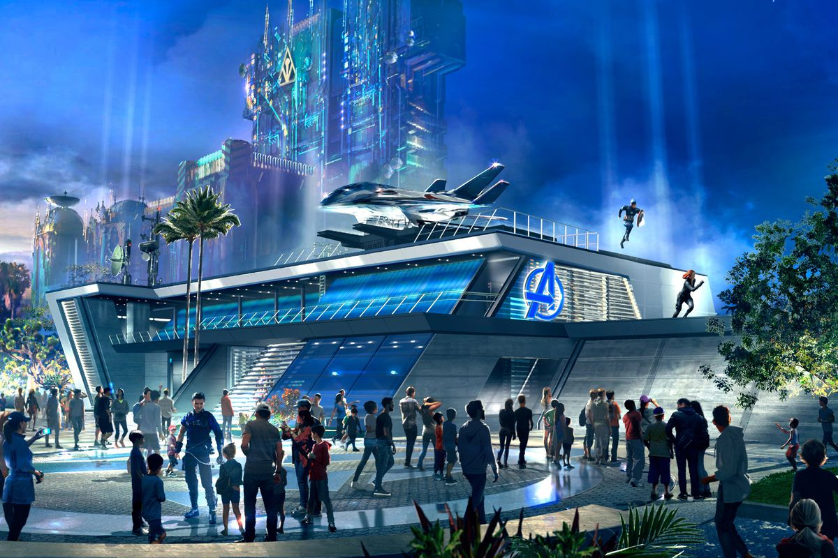 Throughout the day at Avengers Headquarters at Avengers Campus inside Disney California Adventure Park in Anaheim, California, recruits may encounter epic, live-action moments with Avengers heading off the threat of their foes. Disney announced that Marvel's Avengers Campus will open up on June 4 at Disneyland.