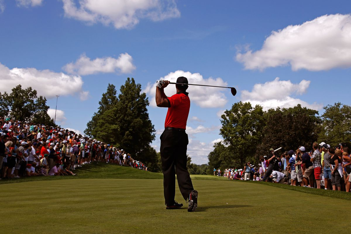 Tiger Woods wins the 2013 WGC-Bridgestone Invitational at Firestone CC