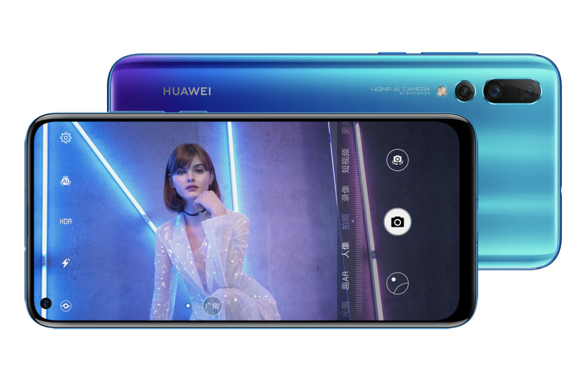 Huawei Announces Nova 4 With Hole Punch Display And 48 Megapixel
