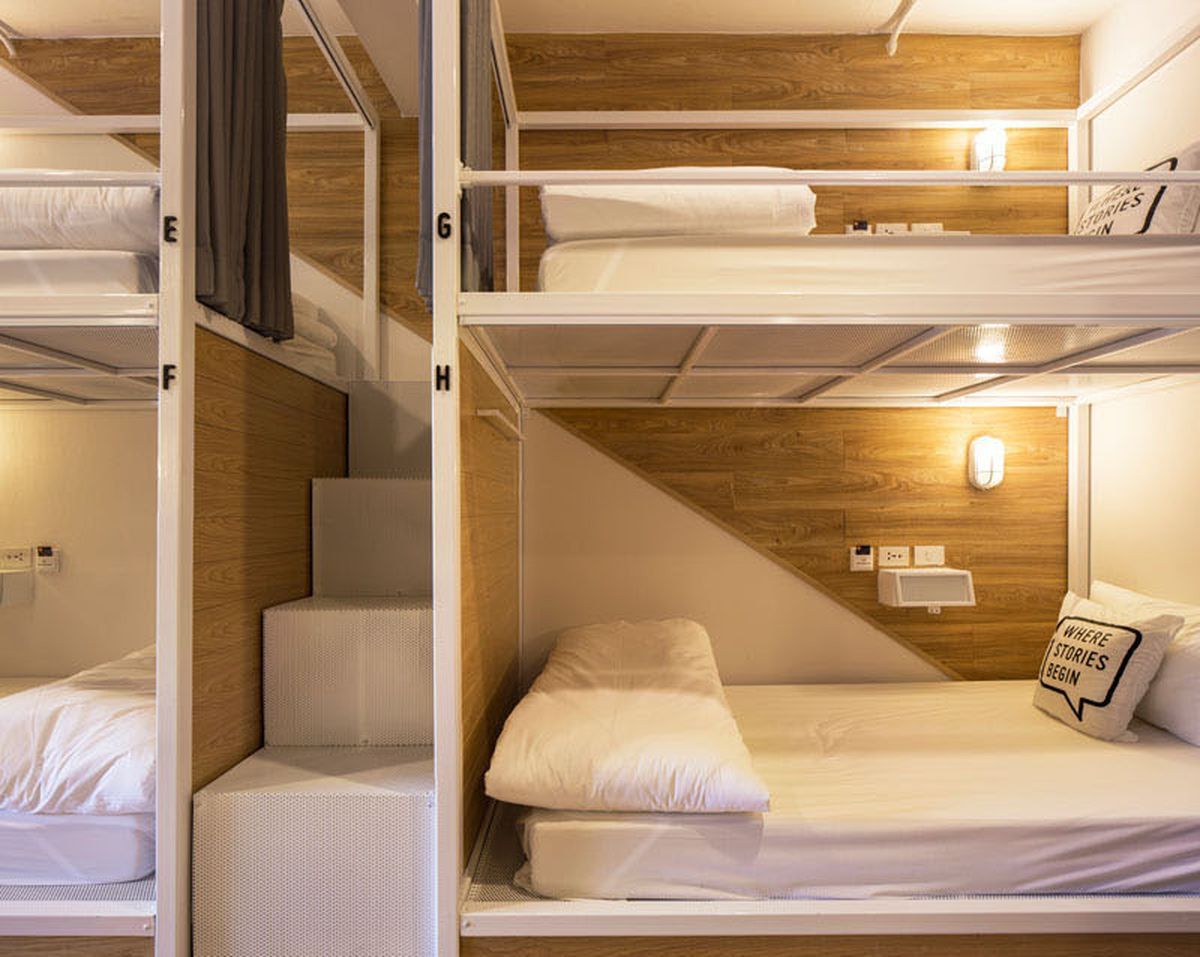 Modern Hostel In Bangkok Is Just 13 Feet Wide Curbed