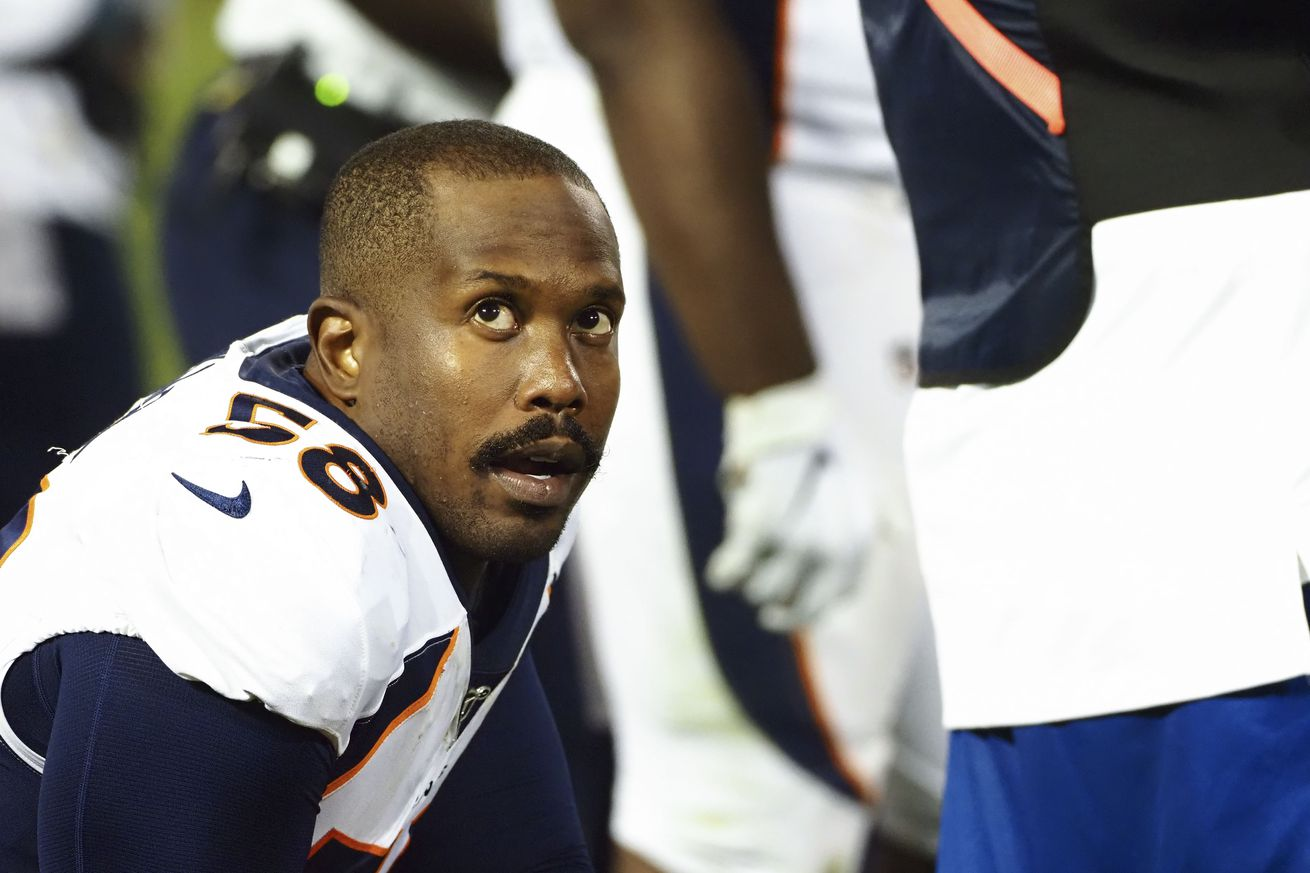 Is it time to worry about Von Miller's lack of production?
