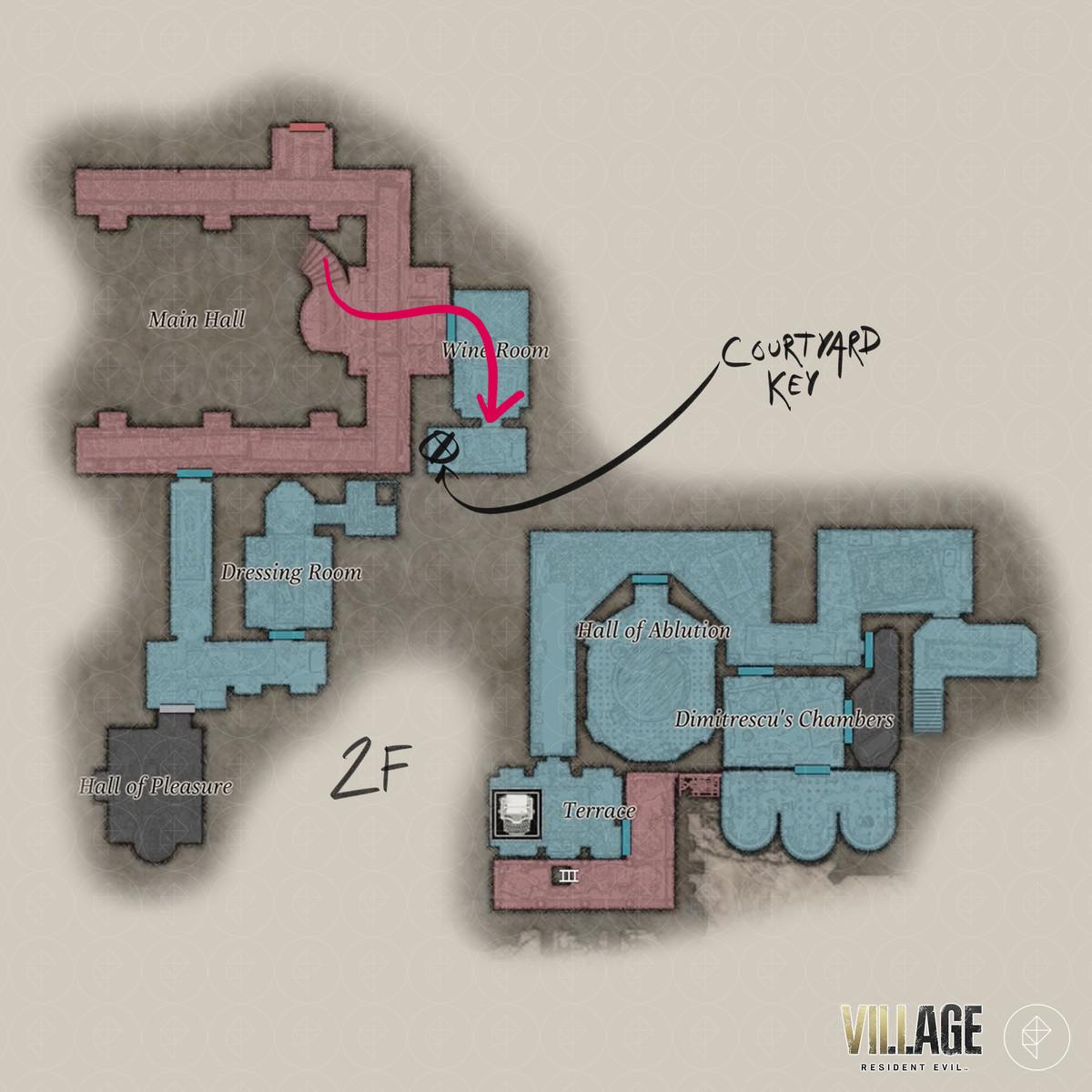Resident Evil Village walkthrough part 4: Find Dimitrescu's Chambers