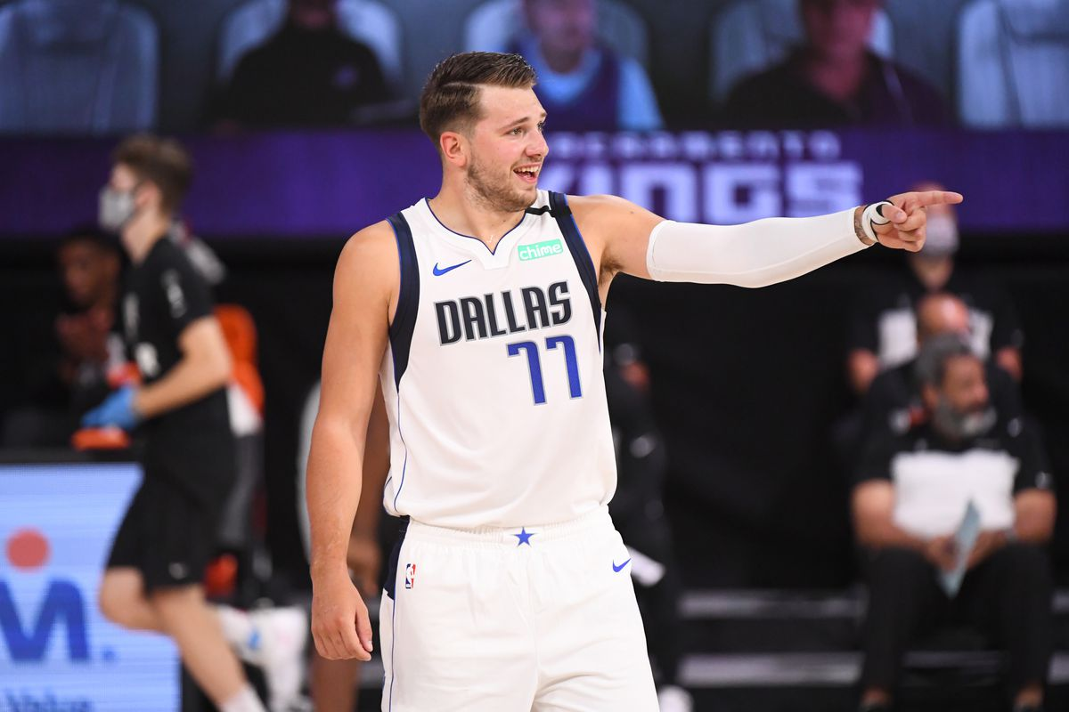 Luka Doncic given a special reminder in the NBA Bubble - Mavs ...
