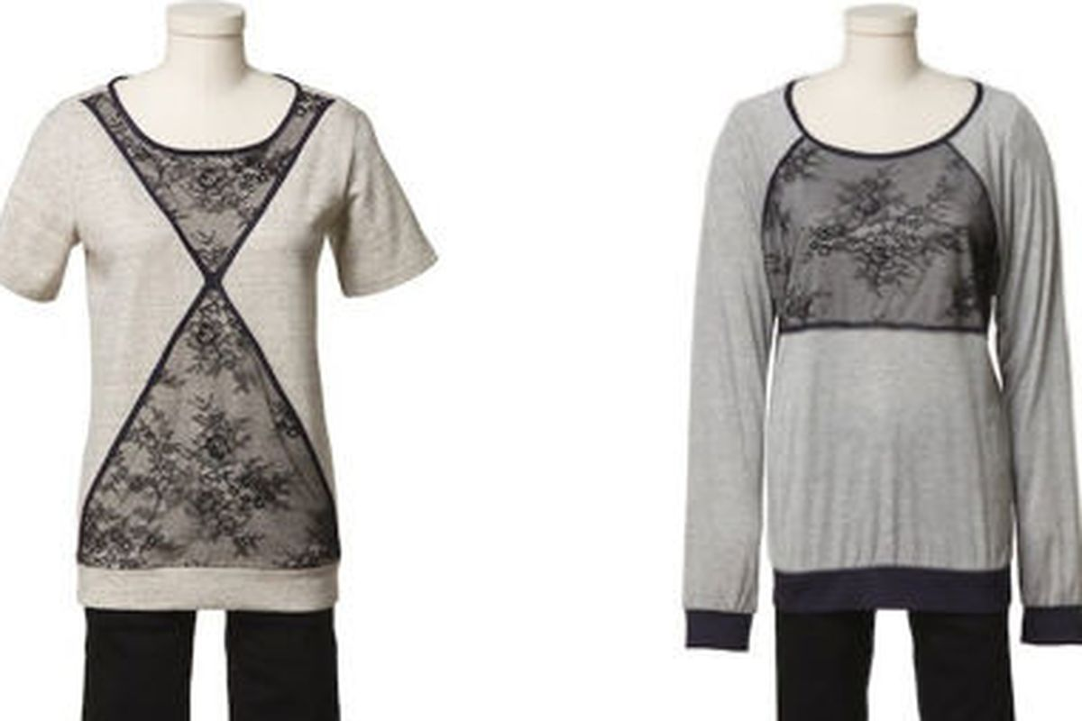 Tibi tops, retailing for $85 and $75, respectively