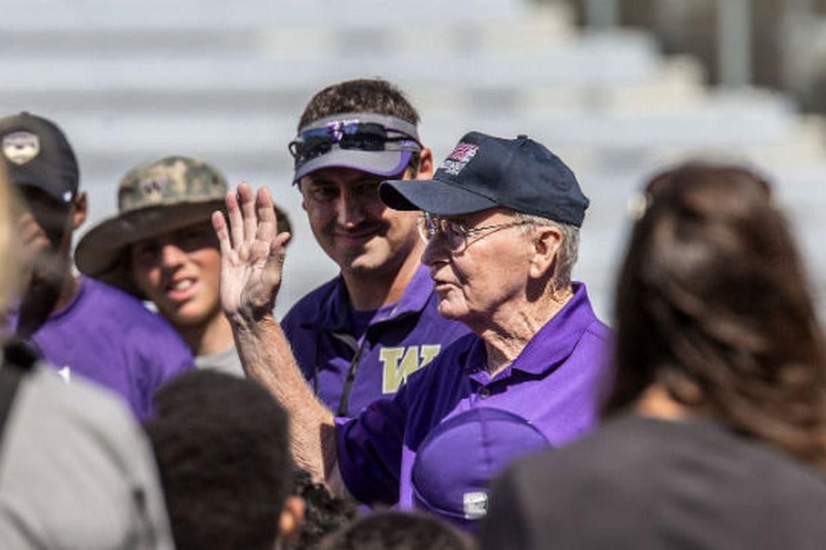One last farewell, Coach James.