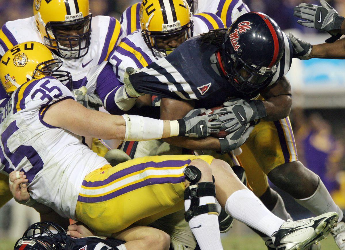 NCAA Football - Mississippi vs LSU - November 18, 2006