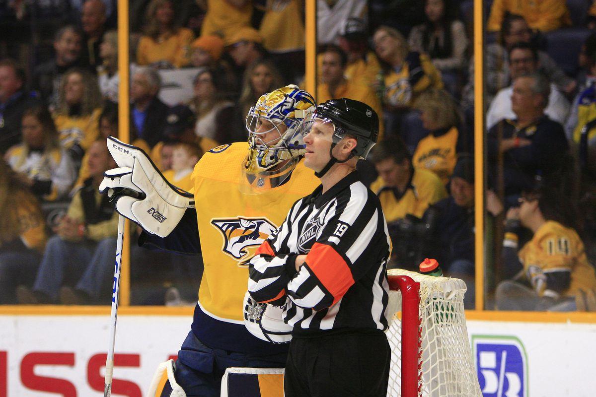NHL: JAN 20 Panthers at Predators