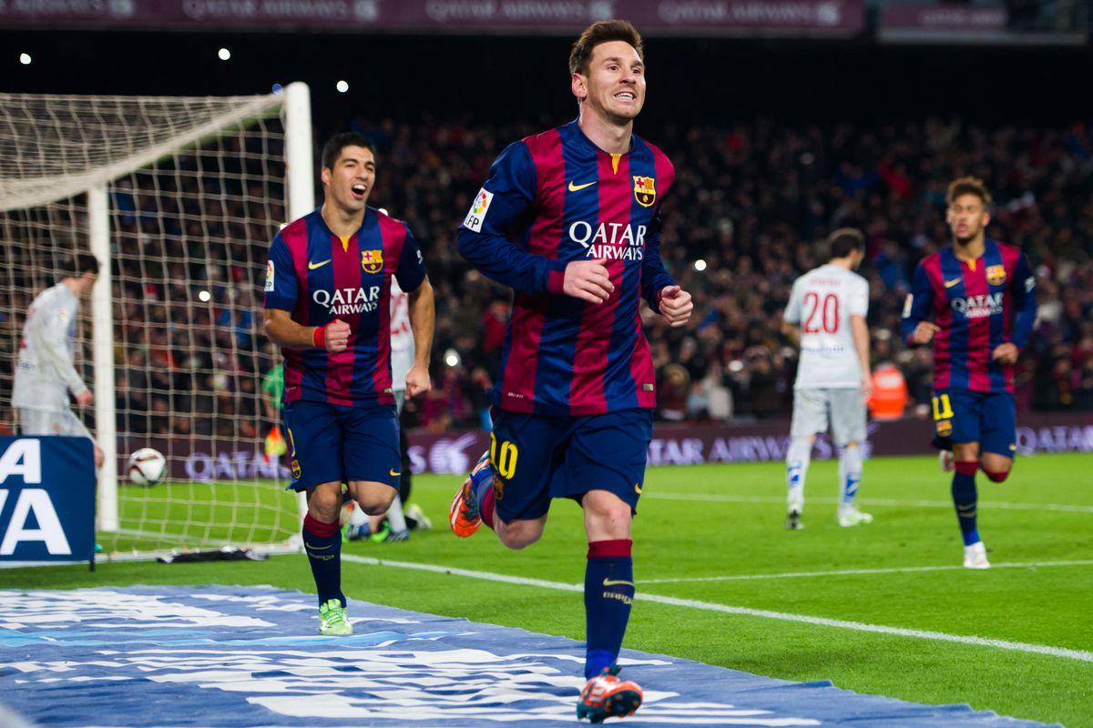 Barcelona v Club Atletico de Madrid - Copa del Rey Quarter-Final: First Leg