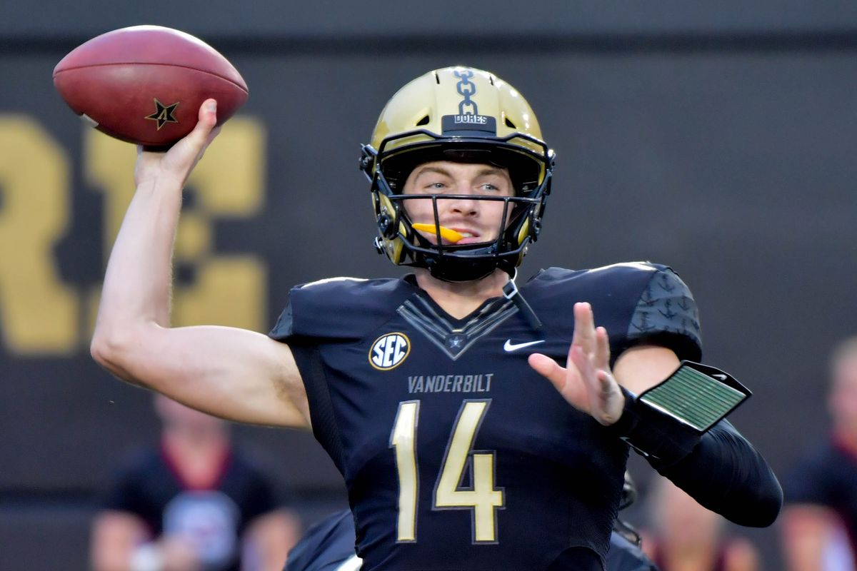 The Redskins Need Help At QB Now  Kyle Shurmur Can Compete Now ... 0926fec4a