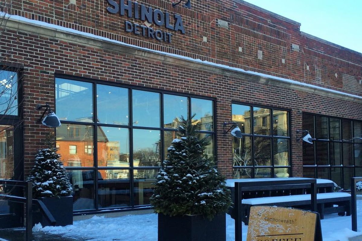 Commonwealth partnered with Shinola to bring coffee to the Midtown store last fall.