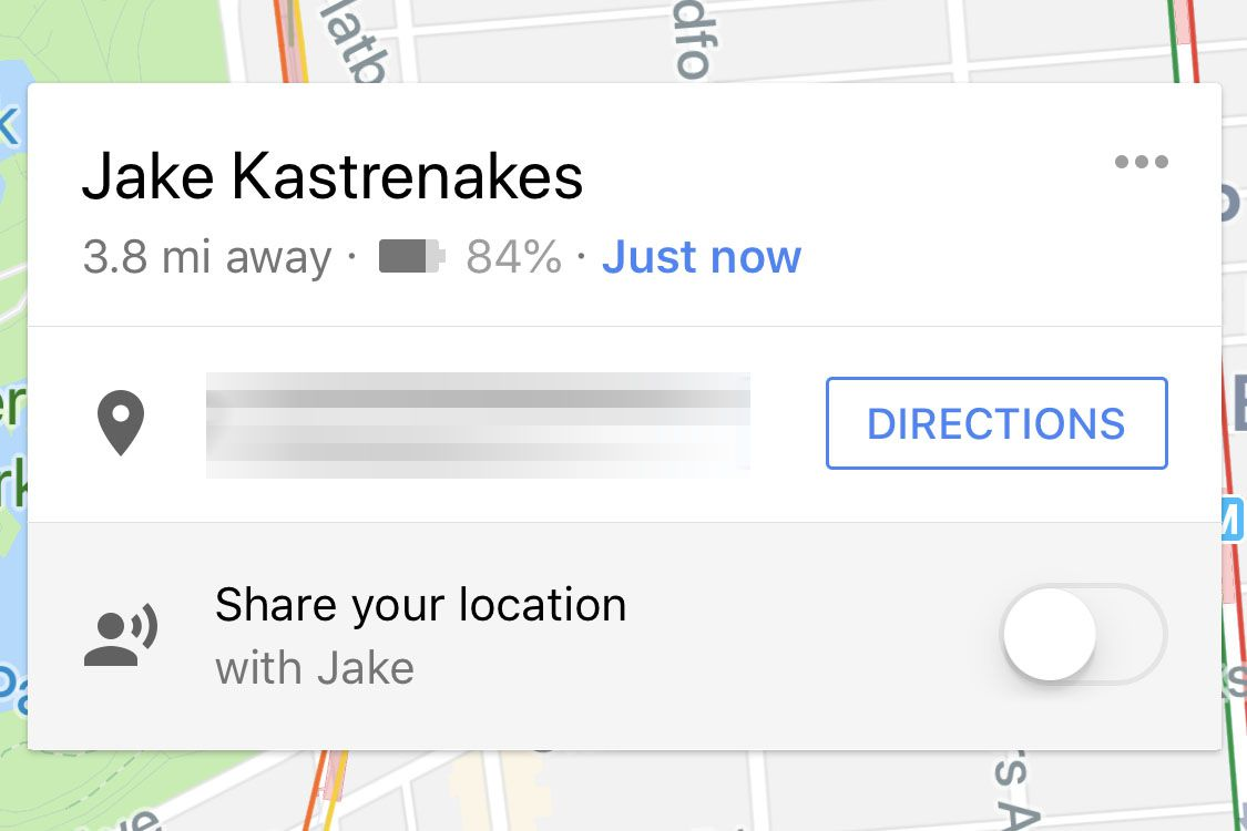 Google Maps location sharing now also shares your phone's battery