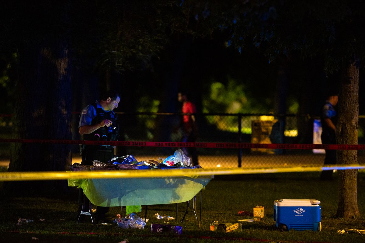 7 wounded in shooting near Douglas Park playground - Chicago